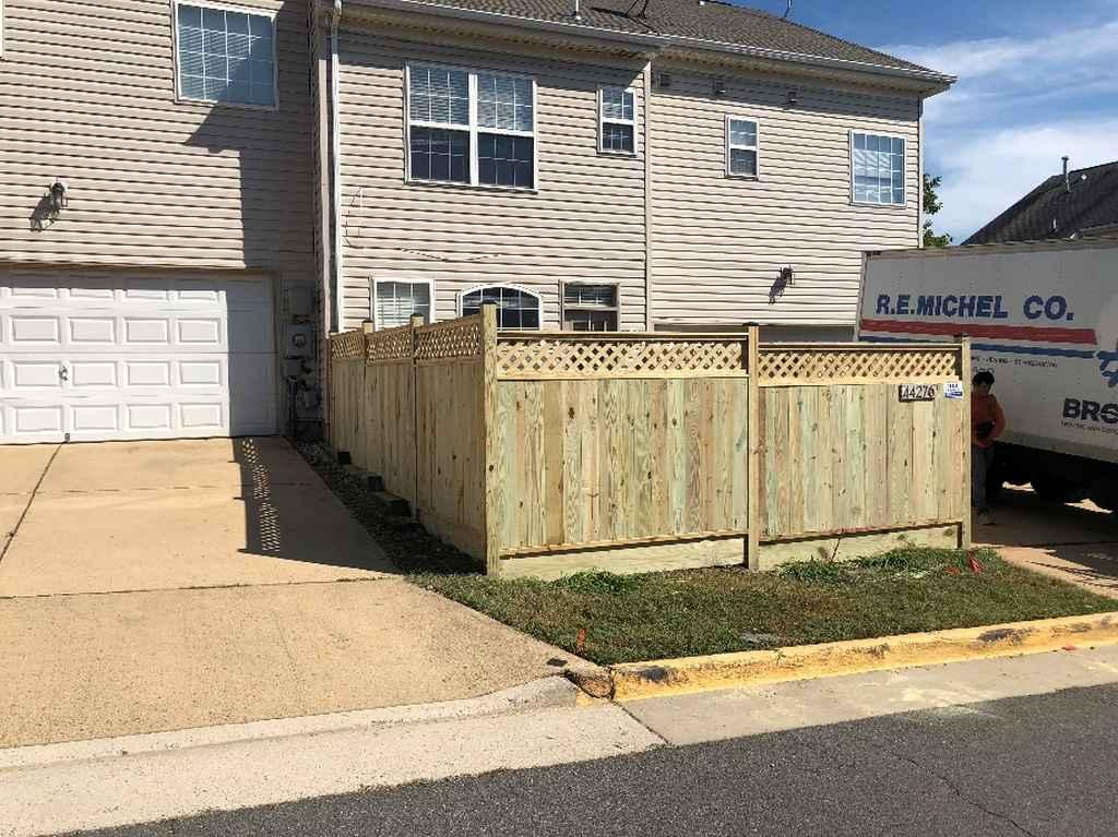 Quality fence installation in Arlington VA