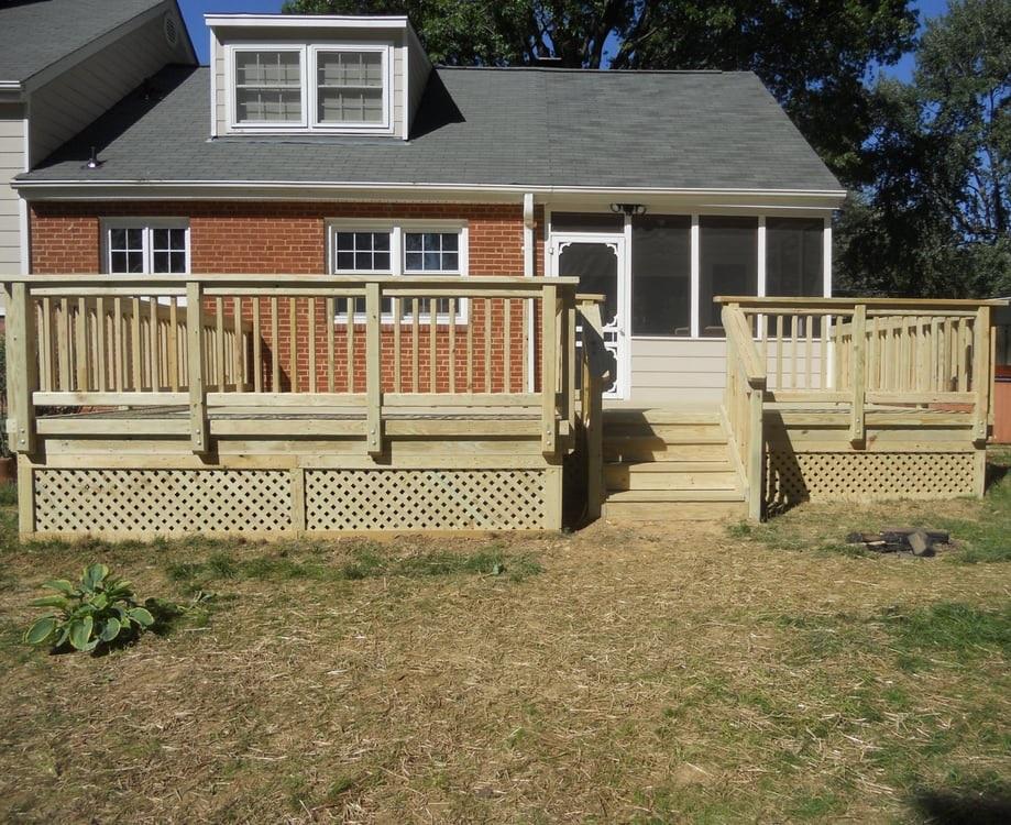 Deck and Patio Services in Arlington, VA